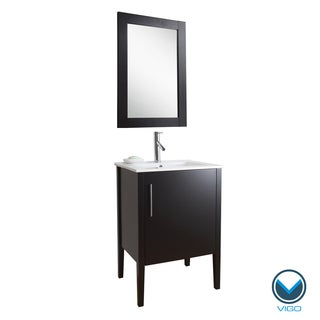 VIGO 24-inch Maxine Single Bathroom Vanity/ Mirror