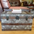Decorative Outbanks Medium Wooden Treasure Hope Chest