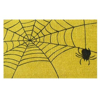 Spiderweb-Coir with Vinyl Backing Doormat (17-inches x 29-inches)