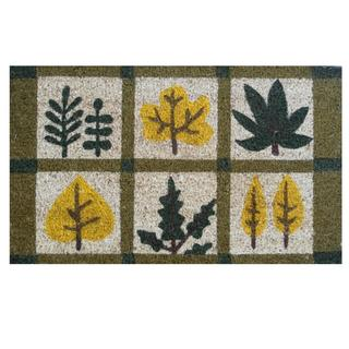 Natural Fall-Coir with Vinyl Backing Doormat (17-inches x 29-inches)