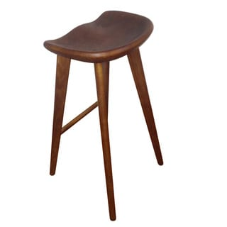 Wood Counter Stool