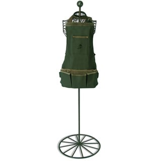 Bay Short Leaf Leather/ Cotton Garden Apron