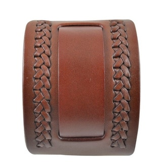 Nemesis Weaved Leather Brown Band