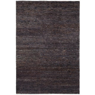 Sheri Jute/Cotton Dark Chocolate 5x8 Rug