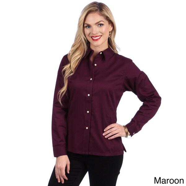 hartwell women 39 s twill button up shirt 15766512