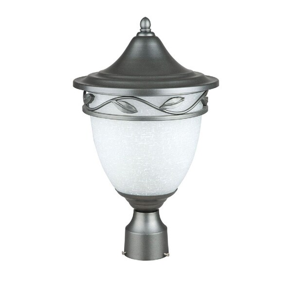 Verona Natural Iron One Light Post Lantern