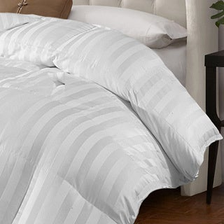 Oversize All Season Cabana Stripe Down Alternative Comforter