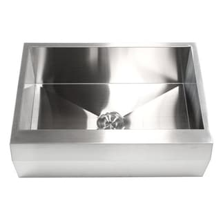 30-inch 16-gauge Stainless Steel Apron Kitchen Sink