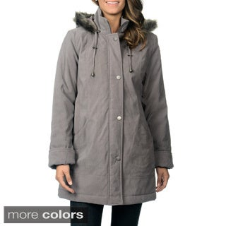 Nuage Women's Detachable Hood Lycroft Jacket with Two Pockets