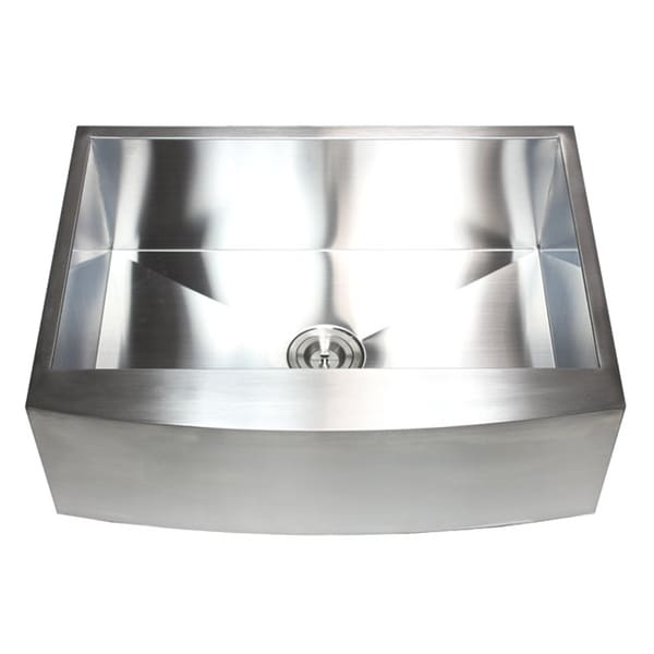 ... Farmhouse Apron Single Bowl 16 Gauge 304 Stainless Steel Kitchen Sink