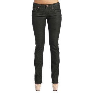 Stitch's Women's Dark Washed Boot Cut Jeans