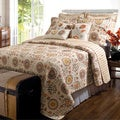 Greenland Home Fashions Andorra 5-piece Bonus Quilt Set