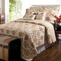 Greenland Home Fashions Andorra 5-piece Bonus Quilt Set