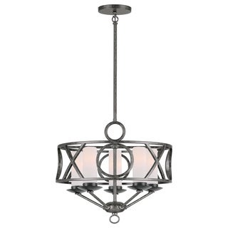 Odette 5-light Chandelier in English Bronze