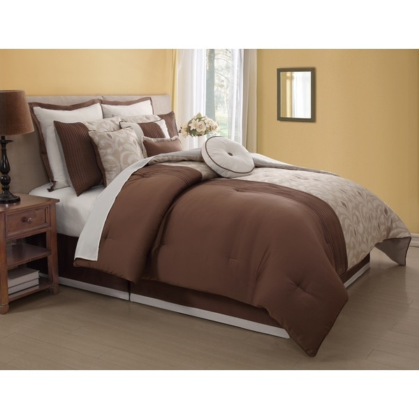 Fairmont 10-piece Comforter Set