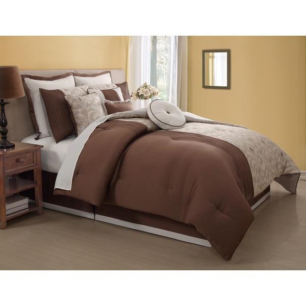 Fairmont 10-piece Comforter Set
