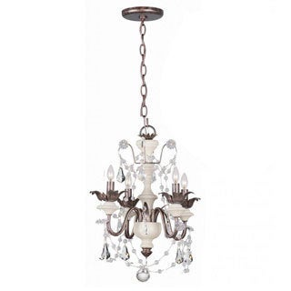 Malibu 4-light Mini Chandelier/Flush