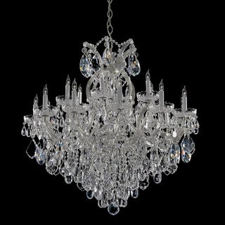 Maria Theresa 18+1 light Crystal Chandelier