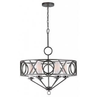 Odette 6-light English Bronze Chandelier