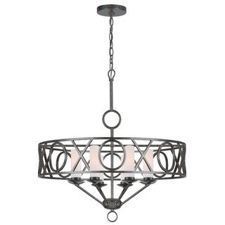 Odette 8-light English Bronze Chandelier