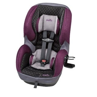 Evenflo SureRide DLX Convertible Car Seat in Sugar Plum
