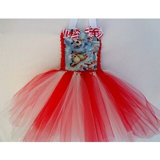 Girls Christmas Tutu Dress