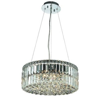 Christopher Knight Home Lausanne 12-light Royal Cut Crystal and Chrome Chandelier