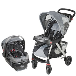 Evenflo EuroTrek Travel System in Racer Grey