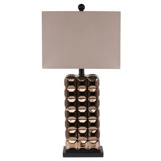 Privilege Ceramic Copper Table Lamp