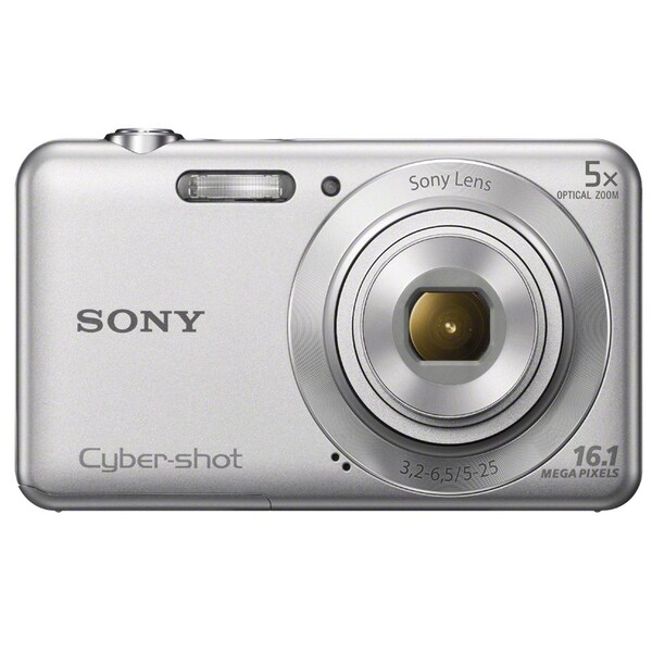 Sony Cyber-shot DSC-W710 16.1MP Silver Digital Camera