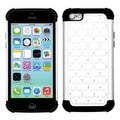 BasAcc White/ Black TotalDefense Case for Apple iPhone 5C