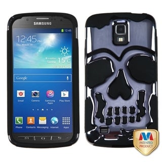 BasAcc Gun Metal Plating/ Black Case for Samsung i537 Galaxy S4 Active