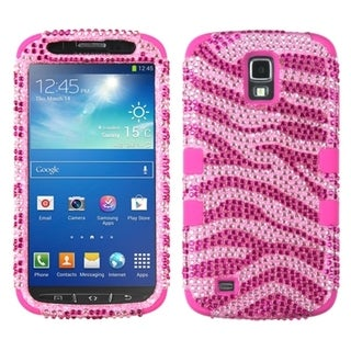 BasAcc Zebra/ Hot Pink TUFF Case for Samsung i537 Galaxy S4 Active