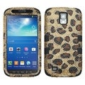 BasAcc Leopard/ Black TUFF Case for Samsung i537 Galaxy S4 Active