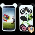 BasAcc Black/ White Panda Pastel Skin Case for Samsung Galaxy S4 I337