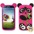 BasAcc Black/ Pink Panda Pastel Skin Case for Samsung Galaxy S4 I337