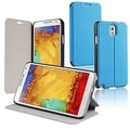 BasAcc Sky Blue Stand Leather Case for Samsung Galaxy Note III N9000