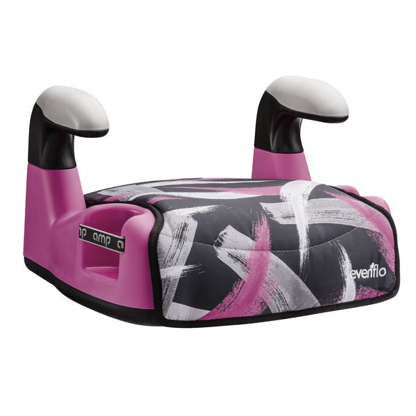 Evenflo AMP LX Booster Seat in Paint Brush Pink