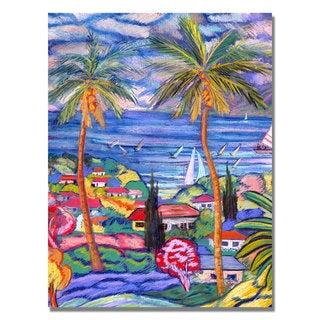 Manor Shadian 'Hawaii Wind Surf' Canvas Art