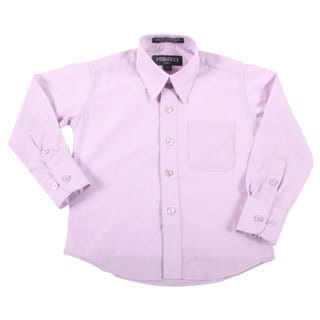 Ferrecci Boys Slim Fit Lilac Collared Formal Shirt