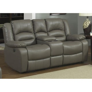 Axle Dual Power Reclining Loveseat