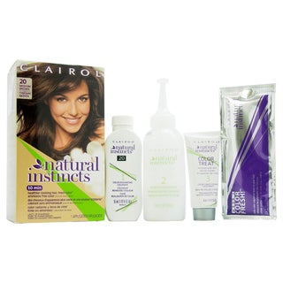 Clairol Natural Instincts Medium Brown 20 Hair Color (Pack of 4)
