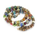 Sweet Romance Goldtone Serpent Coil Bracelet