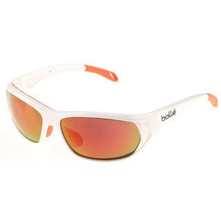 Bolle 'Ouray' Shiny White Polarized Sport Sunglasses