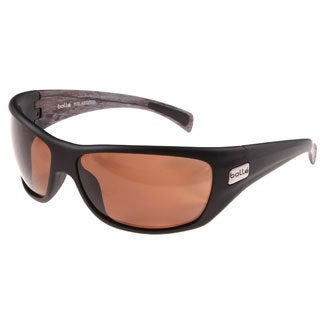 Bolle 'Cobra' Matte Black Polarized Sport Sunglasses
