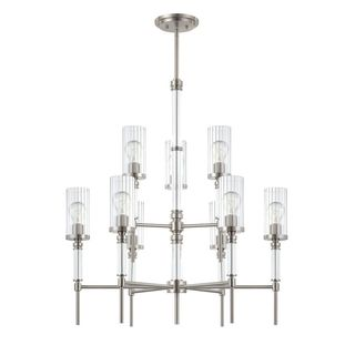 Satin Nickel Cosmopolitan Chandelier