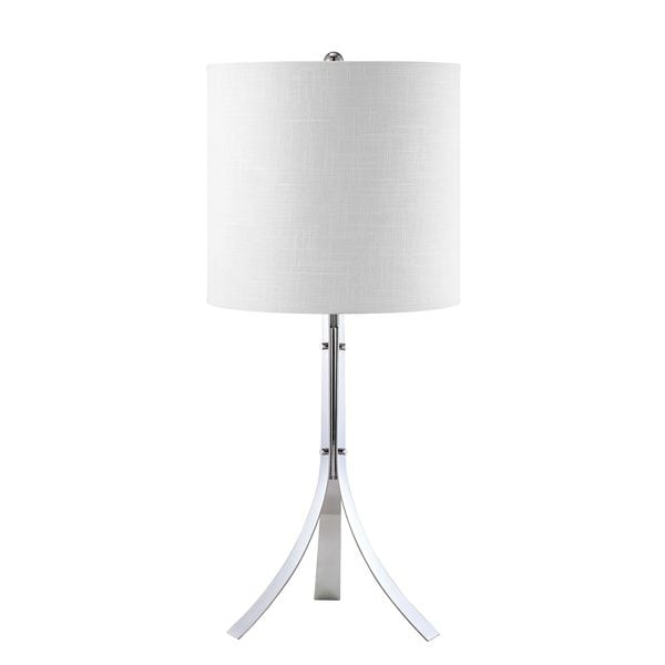 Polished Chrome Empire Table Lamp