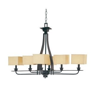 Black/ Gold Mirabelle Chandelier