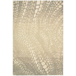 kathy ireland Home Palisades Light Olive Rug (8' x 10'6)
