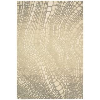 kathy ireland by Nourison Palisades Light Olive Rug (8' x 10'6)